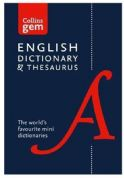 Collins Gem English Dictionary & Thesaurus: The World's Favourite Mini Dictionaries Book